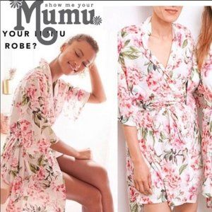 Show Me Your Mumu Brie Robe (Garden of Blooms)